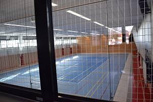 Nová sportovní hala v Červené Vodě.