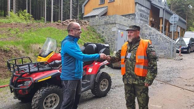 Horská služba v Čenkovicích dostane novou čtyřkolku