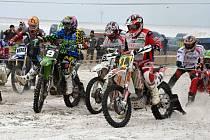 V Martinicích se jel první letošní závod v motoskijöringu.
