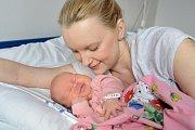 Viktorie Bělehrádková těší Michaelu a Josefa z Moravské Třebové. Když se 21. ledna v 13.10 hodin narodila, vážila 3,797 kg.