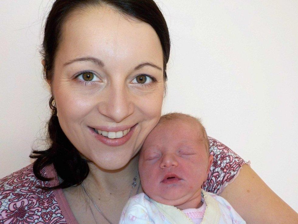 Natálie Flachová je první radostí pro Blanku a Lukáše z Desné u Litomyšle. Při narození dne 28. 1. v 20.13 hodin vážila 2850 g.