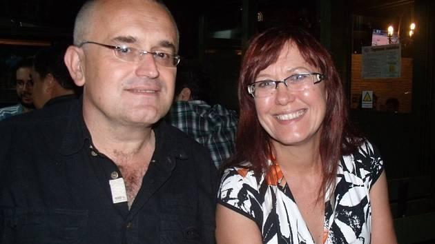 Doktor Leoš Středa s Kateřinou Cajthamlovou.
