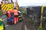 Dopravní nehoda u obce Kameničná