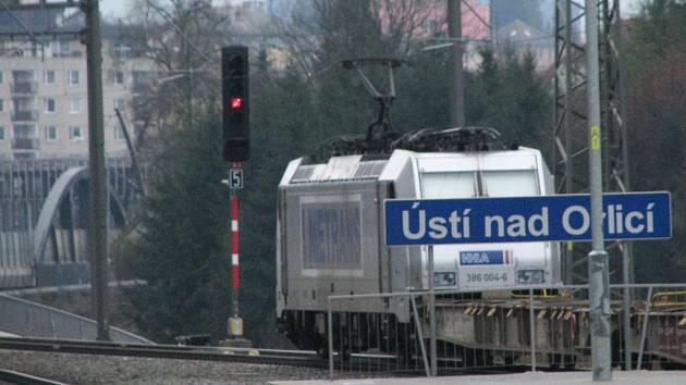 Rekonstrukce železničního uzlu Ústí nad Orlicí skončila.