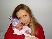 Magdaléna Pešková je první radostí pro Kateřinu a Jaroslava z Letohradu. Světlo světa poprvé spatřila dne 12. 11.