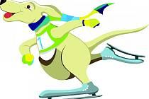 Grafická podoba maskota olympiády v jednotlivých disciplínách.