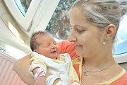 Tereza Pohanková bude doma s rodiči Lucií a Lukášem ve Vlčkovicích. Na svět přišla 17. 7. v 1.23 hodin, kdy vážila 3,16 kg.