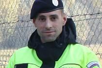 Policista Jan Tkačík.