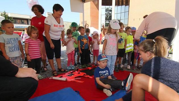 Světový den první pomoci na ústecké Kociánce.