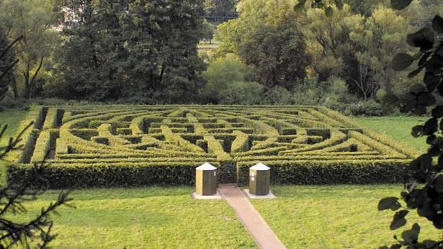 Labyrint v Brandýse nad Orlicí.