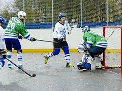 Extraliga hokejbalistů: SK Hokejbal Letohrad - HBC Plzeň.