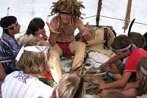 Indiánský den ve Speciální škole v Ústí nad Orlicí.