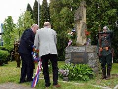 V Letohradě uctili památku obětí války.
