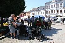 Oustecká strojní sobota - unikátní přehlídka historické techniky v Ústí nad Orlicí.