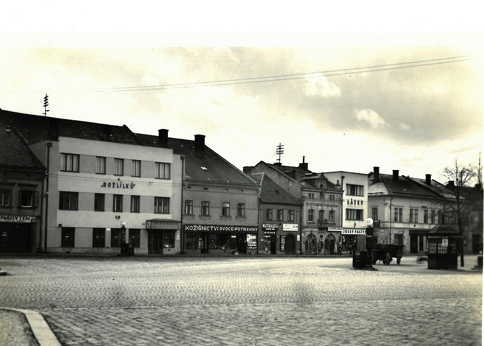 U Rozlílki, 40. léta 20. století