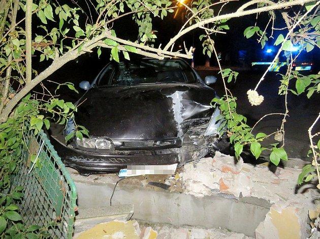 Nehoda v Ústí nad Orlicí.