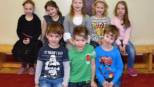 Žáci ze Základní školy Líšnice.