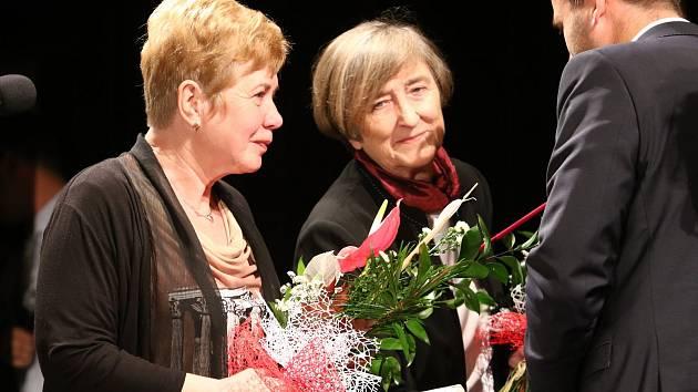 V poslední zářijové středě se v Roškotově divadle v Ústí nad Orlicí rozdávaly ceny města.
