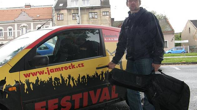 Dramaturg festivalu Jam Rock Libor Pavlata.