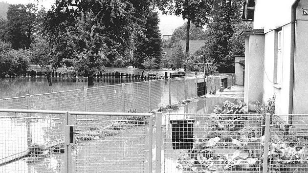 Povodně 1997 - Dlouhá Třebová