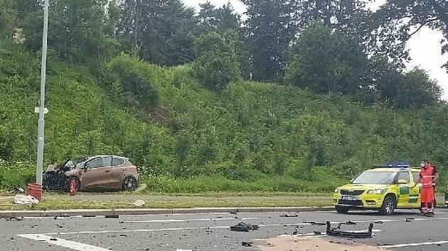 Nehoda v Ústí nad Orlicí