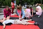 Regionální kolo soutěže mladých zdravotníků v Ústí nad Orlicí.