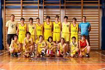 Basketbalisté SKB Česká Třebová U14.