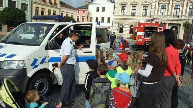Světový den první pomoci v Lanškrouně.