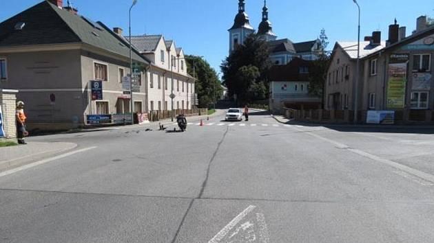 Policie hledá svědky nehody v Žamberku.