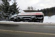 Řidiče potrápil sníh