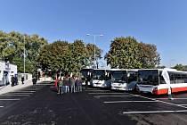 Nové parkoviště společnosti Iveco.