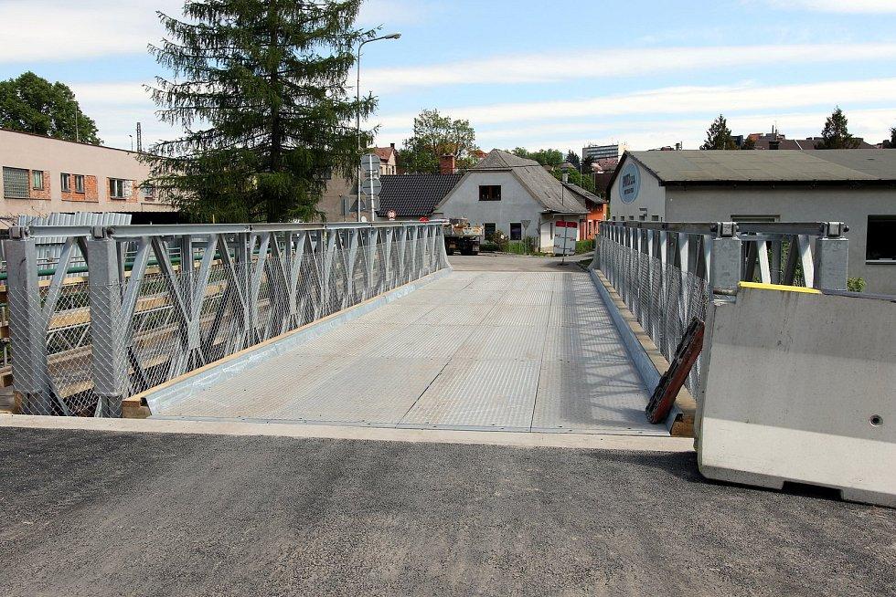 Most v ulici Lázeňská v Ústí nad Orlicí od pondělí funguje.