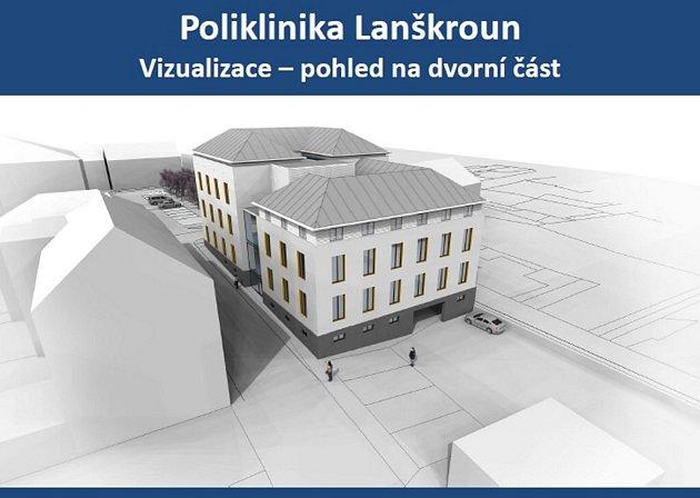 Přestavba polikliniky vLanškrouně.