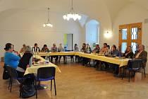 Ze setkání pracovníků v kultuře v Letohradě.