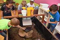 """Želvy ve třídě. Neobvyklé """"spolužáky"""" mají děti v Základní škole ve Velké Skrovnici."""