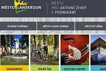 Webové stránky města Lanškroun.