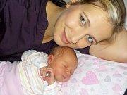Linda Krejzová je po Šimůnkovi druhou radostí rodičů Lucie a Jakuba z Litomyšle. Na svět přišla s váhou 3530 g dne 19. 10. v 23.14 hodin.