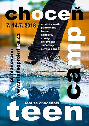 TeenCamp Choceň.