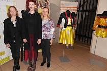 Studentky ústecké umprumky prezentovaly úspěšnou kolekci London.
