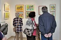 Výstava Život vtištěný do barev v českotřebovském muzeu.