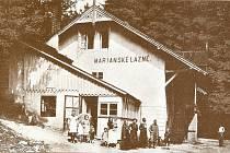 Mariánské lázně v Chocni z počátku 20. století