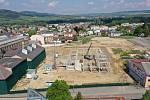 Stavba DDM v Ústí pokračuje