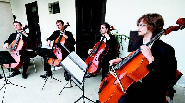 Violoncellové kvarteto Prague Cello Quartet