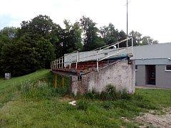 Atletický stadion v České Třebové.