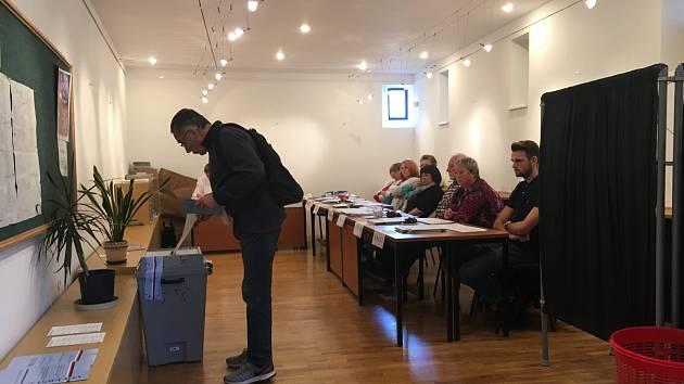 Volby v Ústí nad Orlicí.
