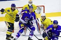 Krajská hokejová liga: HC Spartak Choceň - HC Slovan Moravská Třebová.