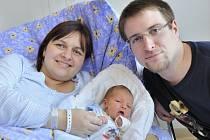 Petr Šebrle je první radostí pro manžele Lenku a Petra z Lanškrouna. Po porodu 27. prosince v 7.51 hodin vážil 2,8 kg.