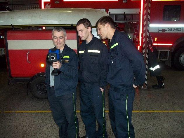 Nová termokamera HZS v Lanškrouně.