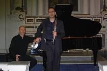 Italské duo Alberto Cesaraccio (hoboj) a Maurizio Barboro (klavír).