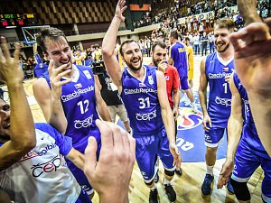 Kvalifikace na MS basketbalistů: Bosna a Hercegovina - Česká republika.